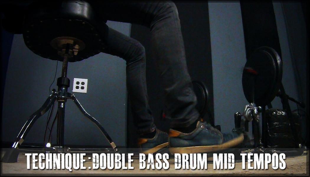 Double Bass Drum Mid Tempos Technique course image