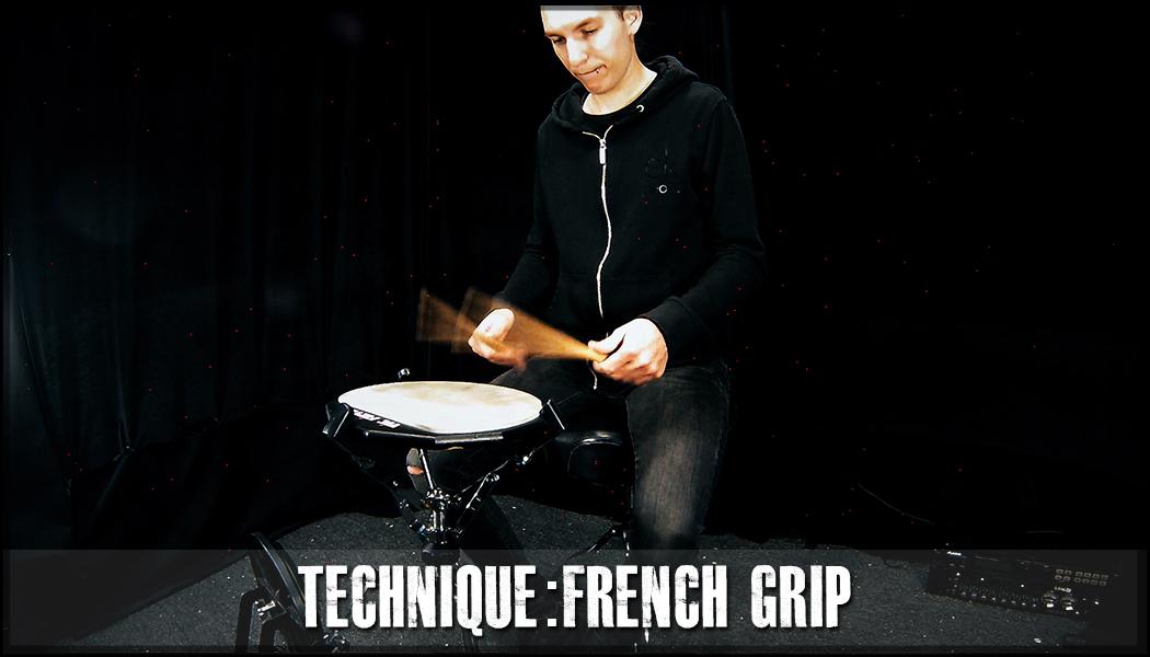 French Grip (Finger Technique) course image