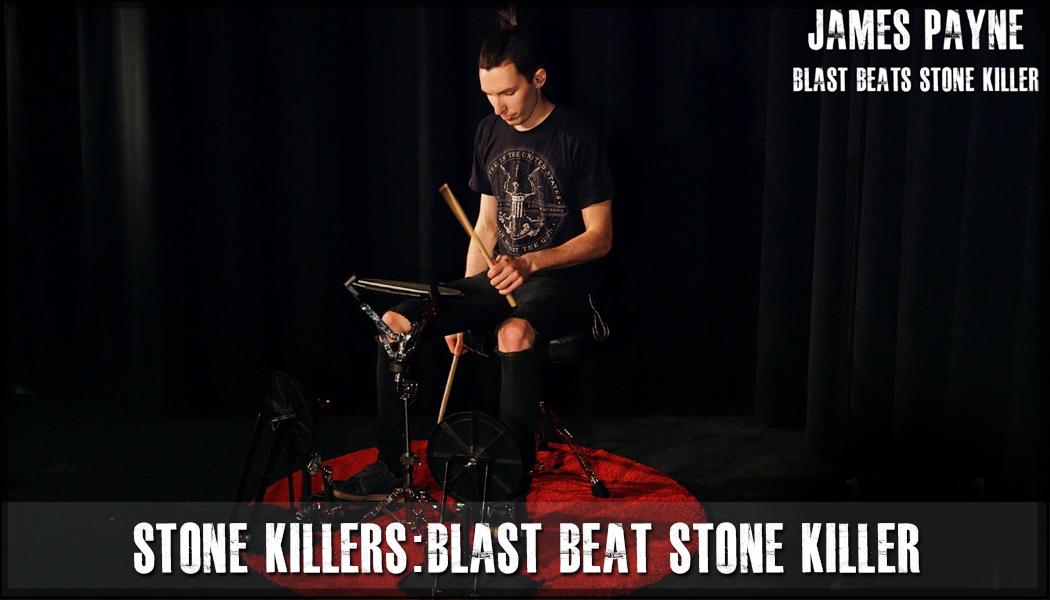 One Foot Blast Beat Stone Killer course image