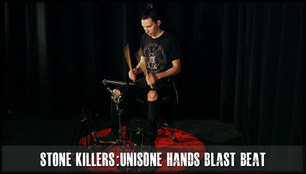 Unisone Hands One Foot Blast Beat Stone Killer course image