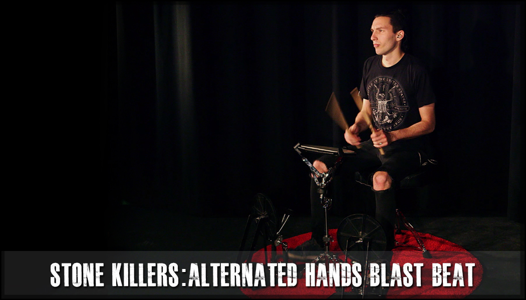 Alternated Hands One Foot Blast Beat Stone Killer course image