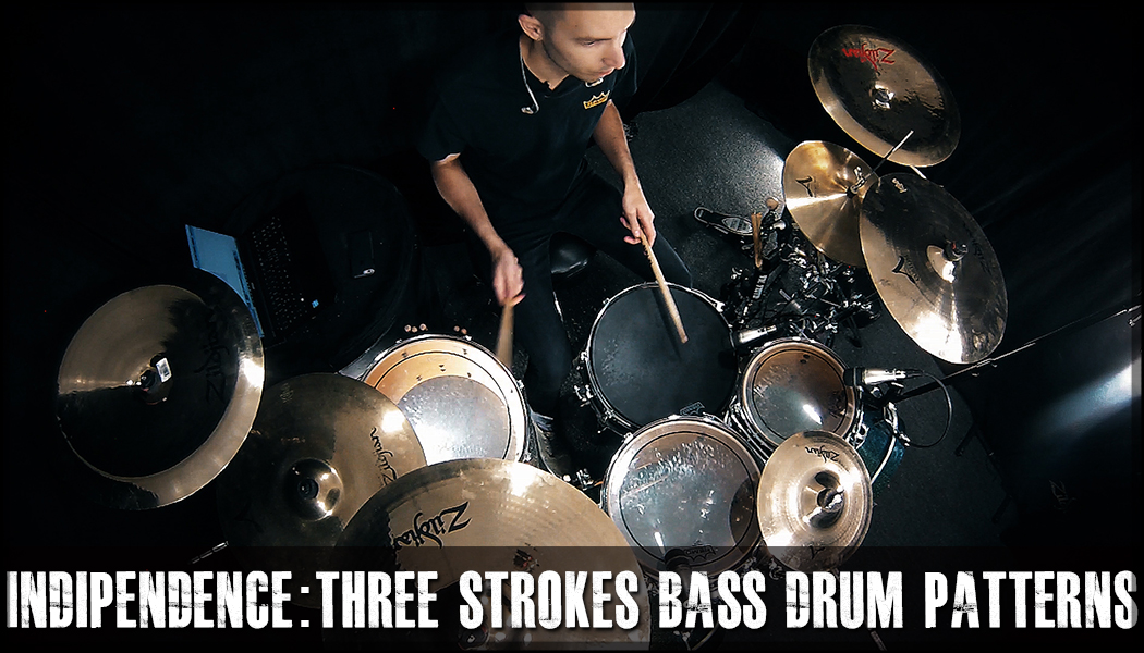 Three Strokes Bass Drum Independence course image