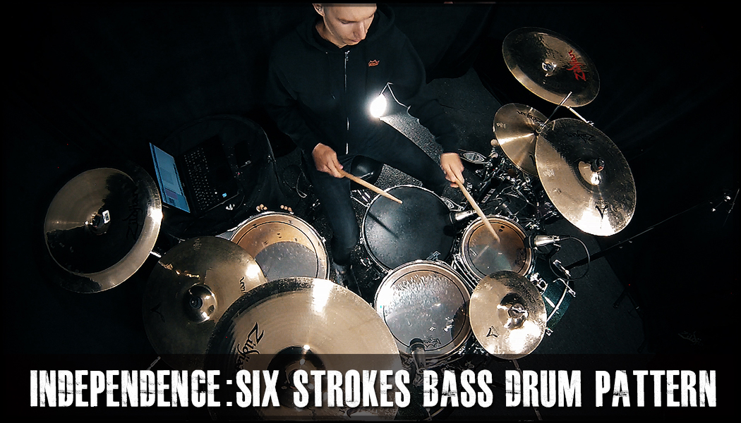 Six Strokes Bass Drum Independence course image