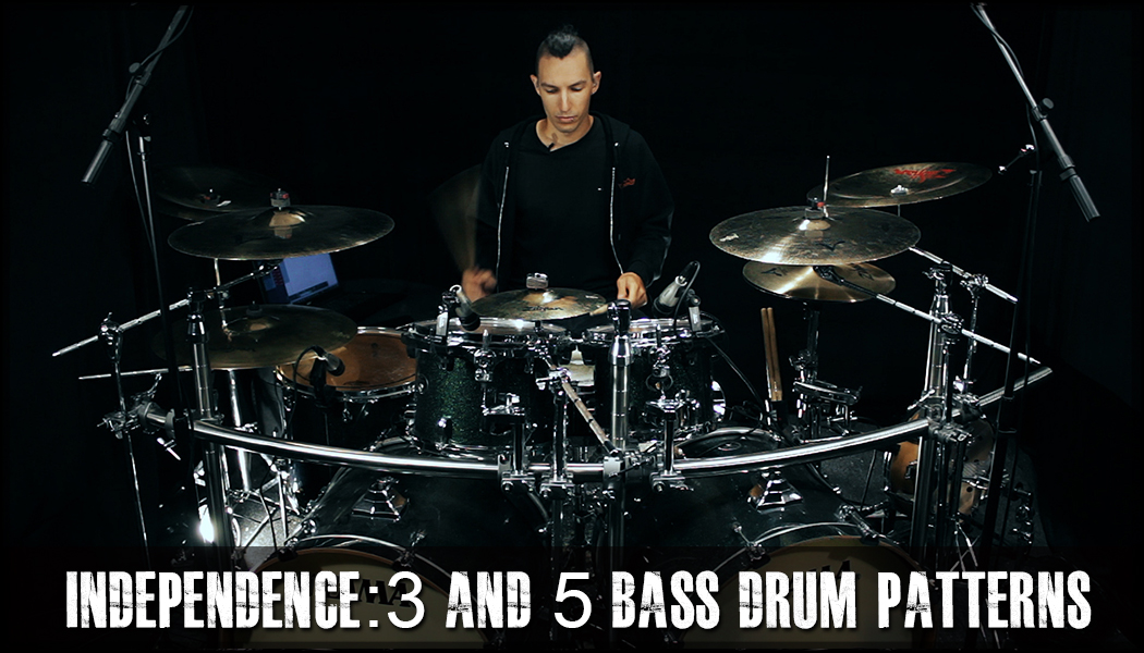 3 And 5 Bass Drum Patterns course image