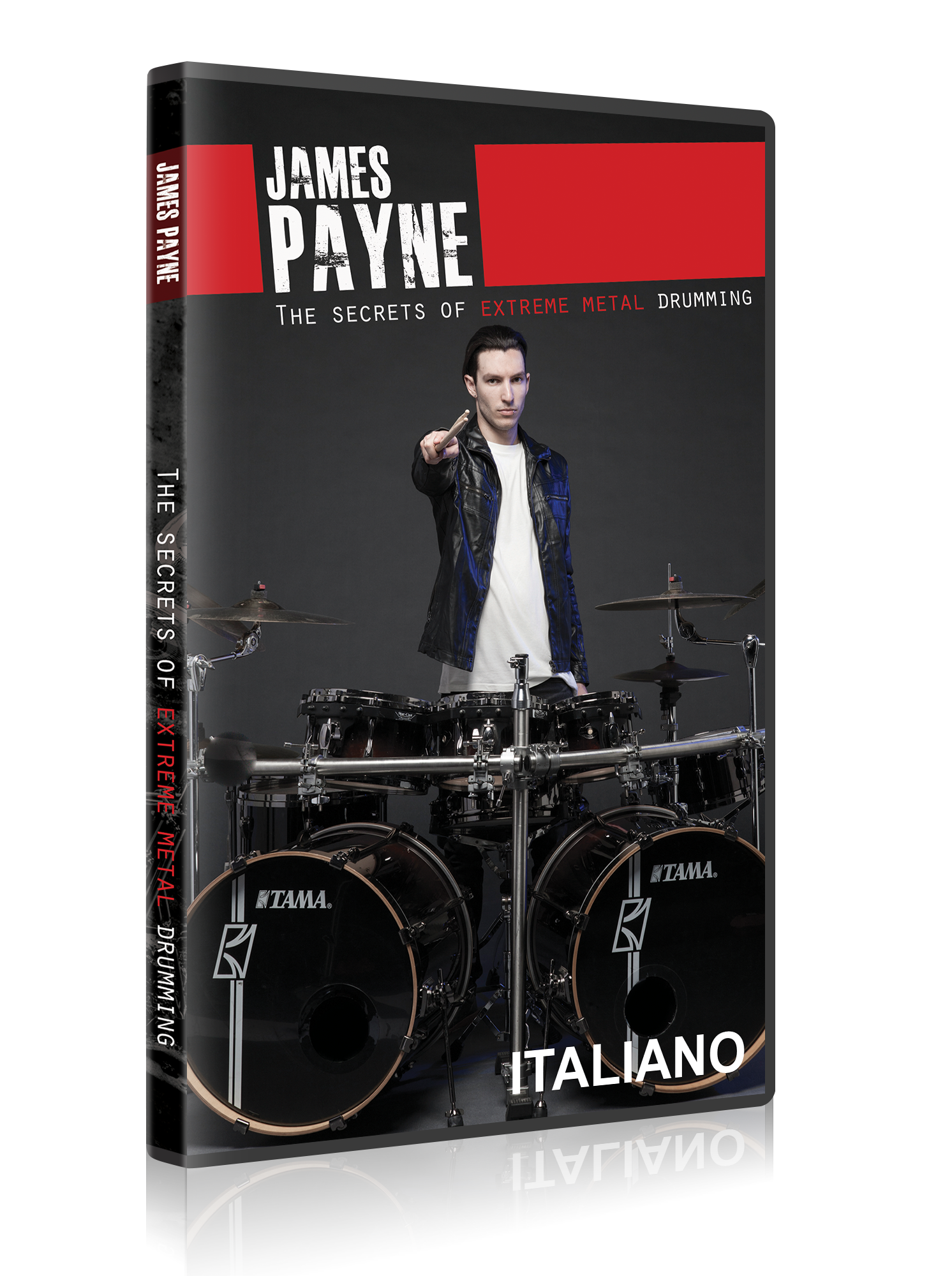 The Secrets Of Extreme Metal Drumming - DVD Streaming (ITALIANO) course image