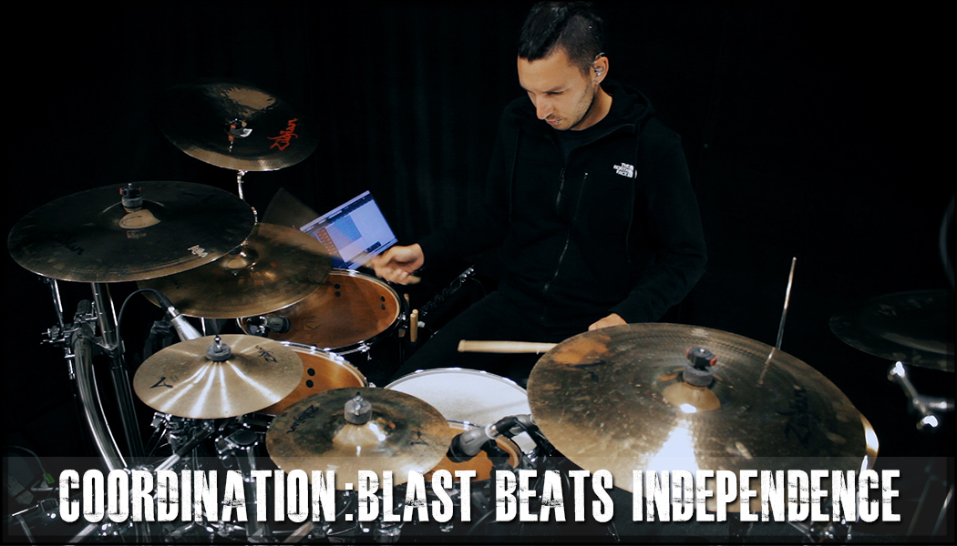 Blast Beats Independence Exercise course image