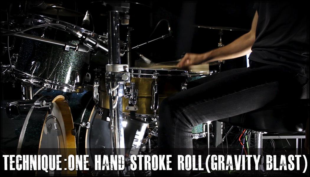 One Hand Stroke Roll Technique (Gravity Blast) course image